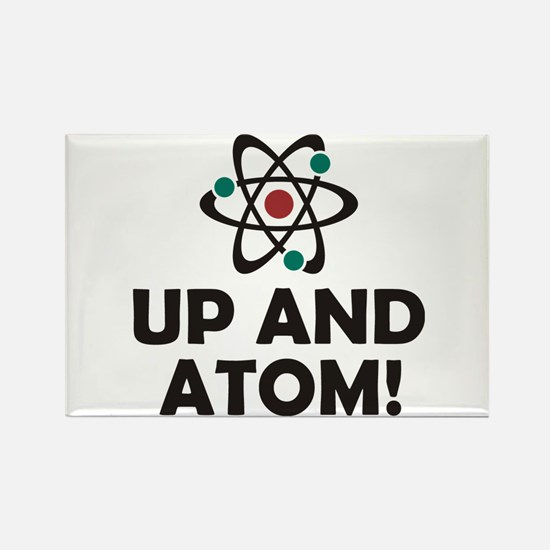 Up and Atom Rectangle Magnet