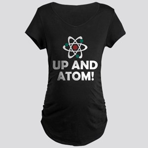 Up and Atom Maternity Dark T-Shirt