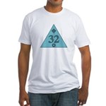 32nd Degree Canada Fitted T-Shirt