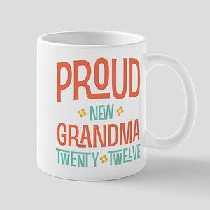 Proud New grandma 2012 Mug