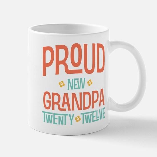 Proud New grandpa 2012 Mug
