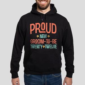 Proud New groom to be 2012 Hoodie (dark)