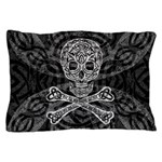 Celtic Skull And Crossbones Pillow Case