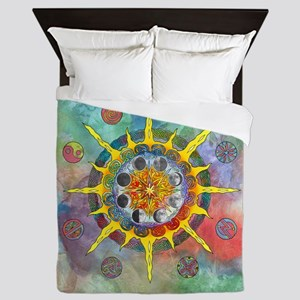 Celtic Stargate Queen Duvet Cover
