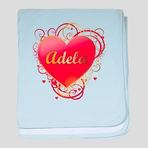 Adela Valentines baby blanket
