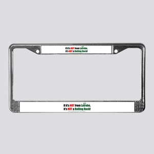 NOT Rock License Plate Frame