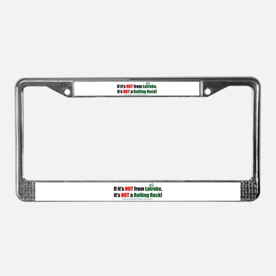 NOT Rock License Plate Frame