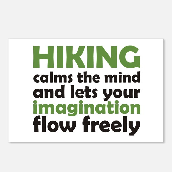 Hiking Calms the Mind Postcards (Package of 8)