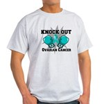 Knock Out Ovarian Cancer Light T-Shirt
