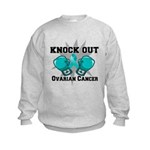 Knock Out Ovarian Cancer Kids Sweatshirt