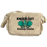 Knock Out Ovarian Cancer Messenger Bag