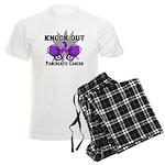 Knock Out Pancreatic Cancer Men's Light Pajamas