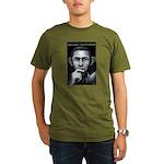 Organic Men's T-Shirt (dark) barack obama