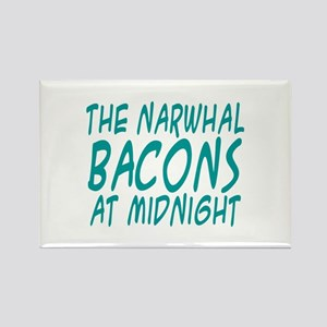 the Narwhal Bacons at Midnigh Rectangle Magnet (10