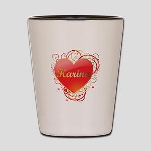 Karina Valentines Shot Glass