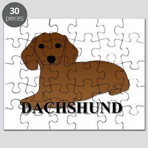 Cartoon Dachshund Puzzle