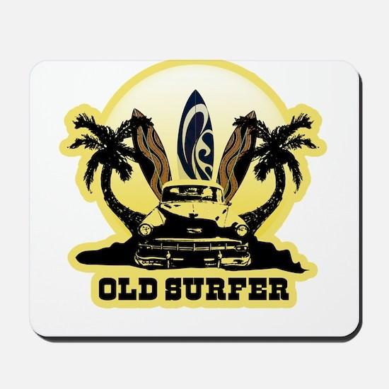 Old Surfer Mousepad