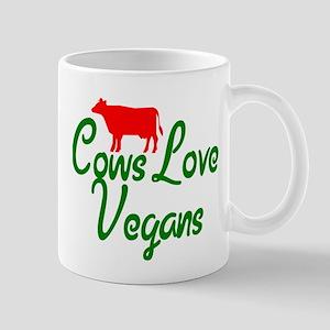 Cows Love Vegans Mug
