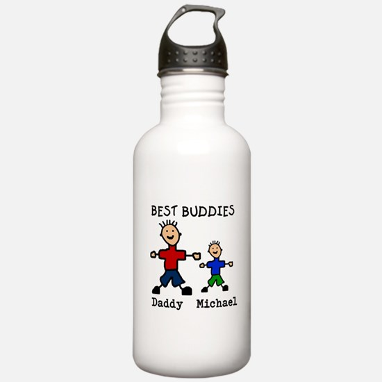 Cute Father Water Bottle