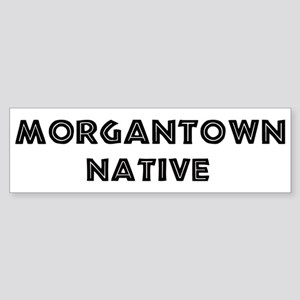 Morgantown Native Bumper Sticker