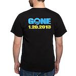 GONE 1.20.2013 Dark T-Shirt