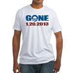 GONE 1.20.2013 Fitted T-Shirt