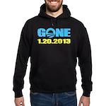 GONE 1.20.2013 Hoodie (dark)