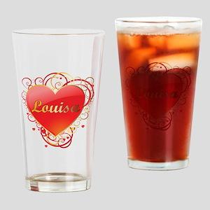 Louisa Valentines Drinking Glass