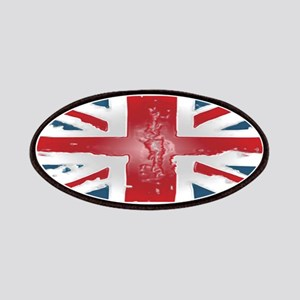 Union Jack British flag Abst Patches