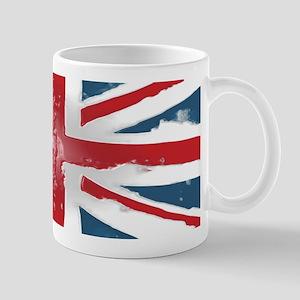 Union Jack British flag Abst Mug