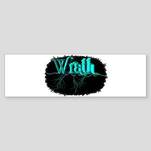 wrath Sticker (Bumper)