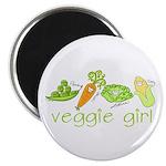 Veggie Girl Magnet