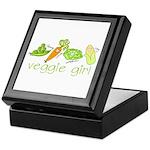 Veggie Girl Keepsake Box