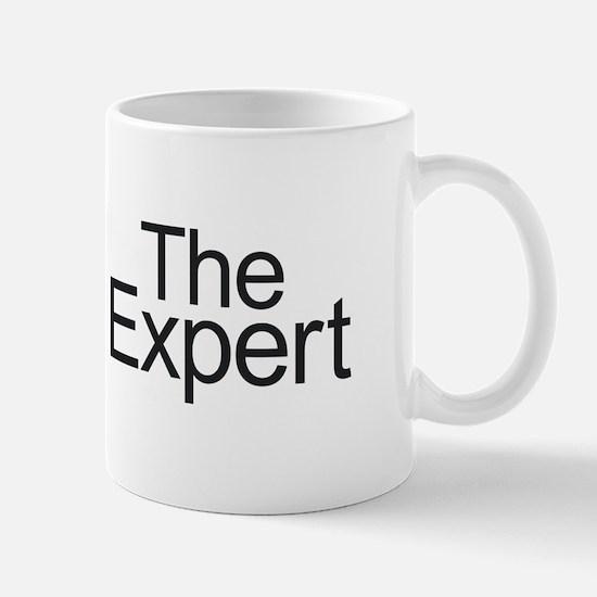 The Expert - Black Mugs