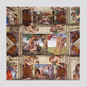 Sistine Chapel Tile Coaster