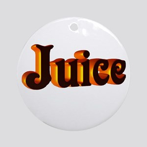 juice Ornament (Round)