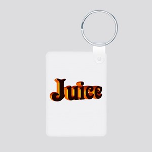 juice Aluminum Photo Keychain