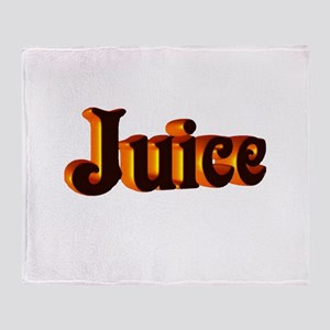 juice Throw Blanket