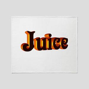 juice Throw Blanket