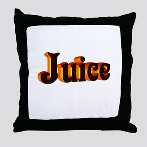juice Throw Pillow