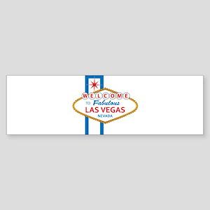 Welcome to Las Vegas Sticker (Bumper)