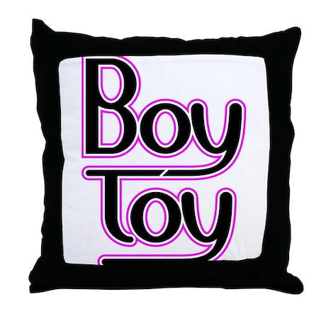 Boy_Toy-flat.png Throw Pillow