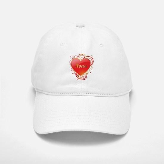 Nona Valentines Baseball Baseball Cap