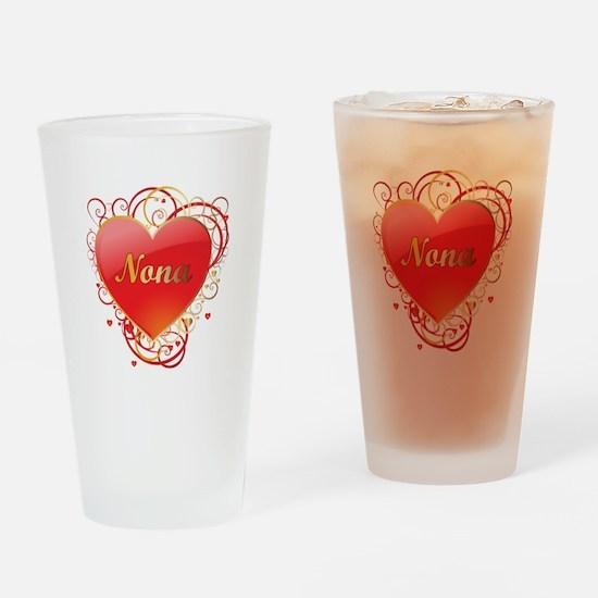 Nona Valentines Drinking Glass