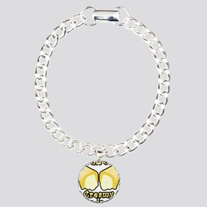 Full of Creamy Goodness Charm Bracelet, One Charm