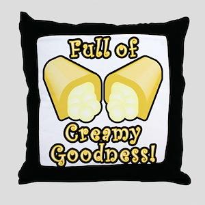 Full of Creamy Goodness Throw Pillow