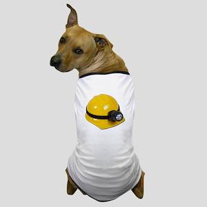 Hard Hat with Lamp Dog T-Shirt