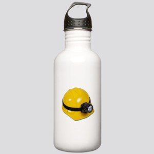 Hard Hat with Lamp Stainless Water Bottle 1.0L