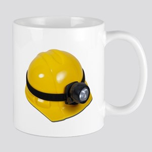 Hard Hat with Lamp Mug