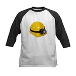 Hard Hat with Lamp Kids Baseball Jersey